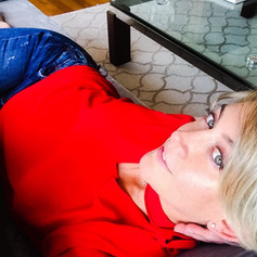 2018- Relaxing on my sofa