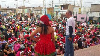 Alex Kouri, Chim pum callao, campaña de navidad, pueblo chalaco