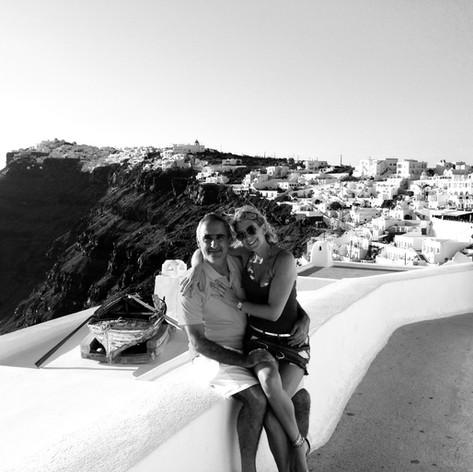 Andrea & Alex, Santorini, Grecia