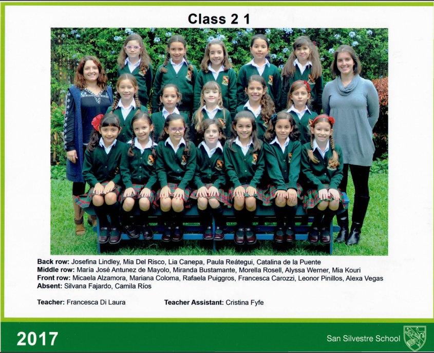 2017, Class photo SS, 2-1, Miss Francesc