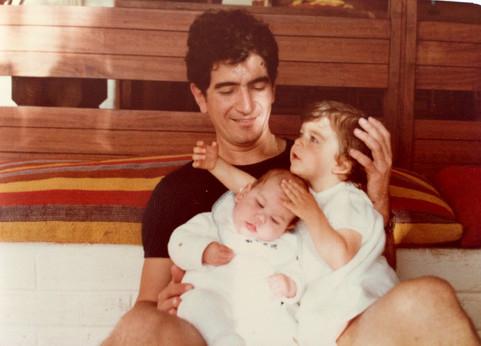 Papa, Felipe y yo