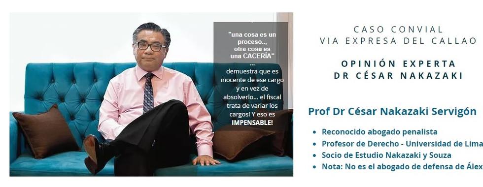 Dr Cesar Nakazaki- penalista