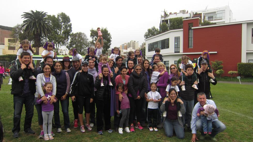 Padres e hijos - Nursery Purple
