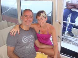 Alex Kouri y Andrea LLona 2011