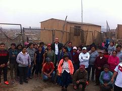 Alex Kouri visita al pueblo  chalaco