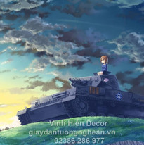 girls_und_panzer_nishizumi_miho_tank_hil