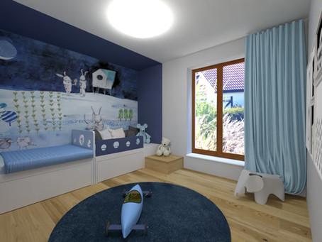 Dětská ložnice pro dobré a ještě lepší jitro