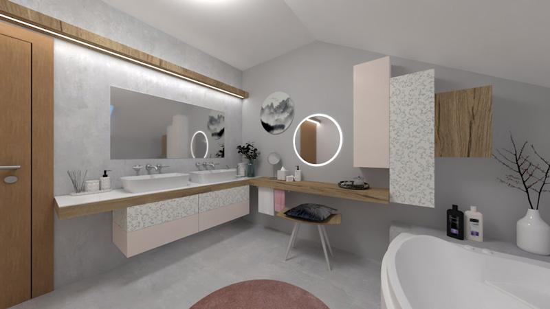 Koupelna pro Vlaďku