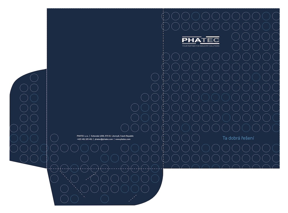 PHATEC - desky s chlopněmi