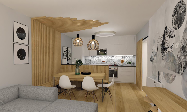 Návrh Apartmá v Rakousku