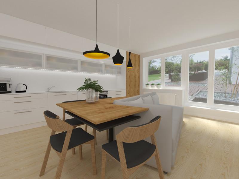 Návrh obývacího pokoje pro Míšu