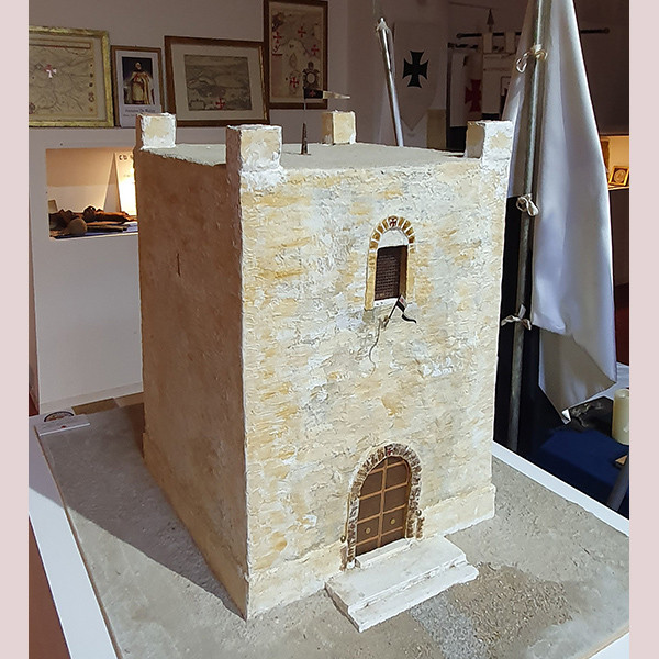 La Fortezza di Chastel Blanc in Sirisa