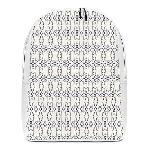 Designer White Backpack