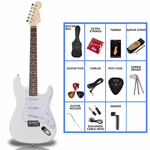 Electric Guitar Starter Pack (12 Colours)