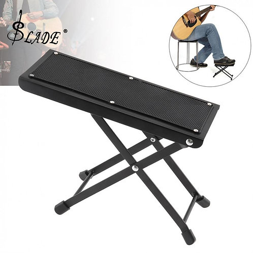 Classical Guitar Folding Foot Rest (Height Adjustable)