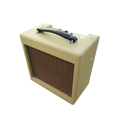 Hand-Wired Tube Amp (5 Watt, 8 Inch Speaker)