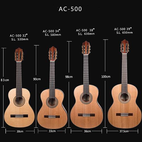 2018 Kevin Shi Classical Guitar (Cedar Top, 4 Sizes)