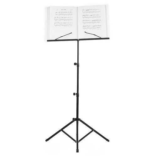 Foldable Sheet Music Stand (Incl. Water-Resistant Carry Bag )