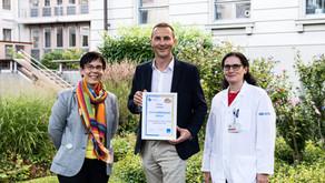 USZ als «rauchfreies Spital» ausgezeichnet