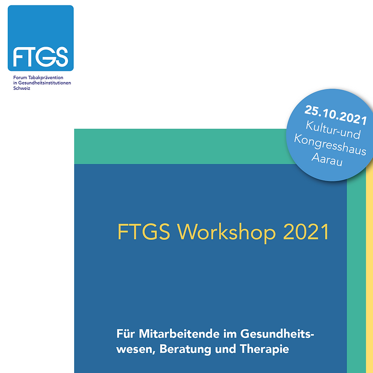 "FTGS Workshop 2021 ""Smoking cessation"""
