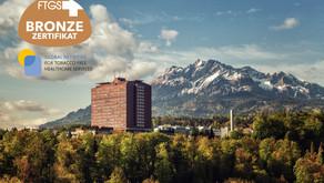 «Rauchfreies Spital»: LUKS erhält Auszeichnung