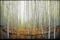 WOODLAND TREES - FALLING LEAVES 03
