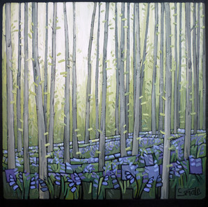 Woodland Trees - Bluebells (02)