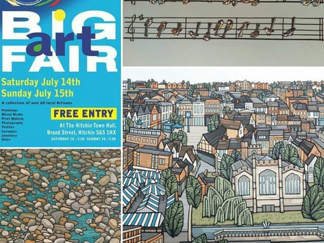 Hitchin Big Art Fair 2018