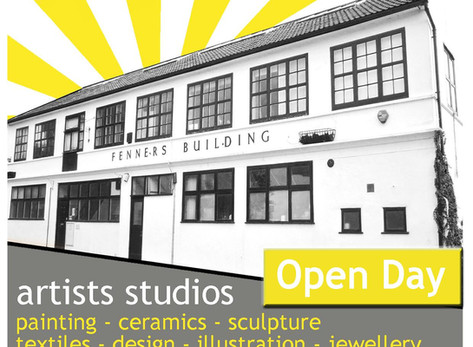 Open Day at Fenners Studio (17 June 2017)