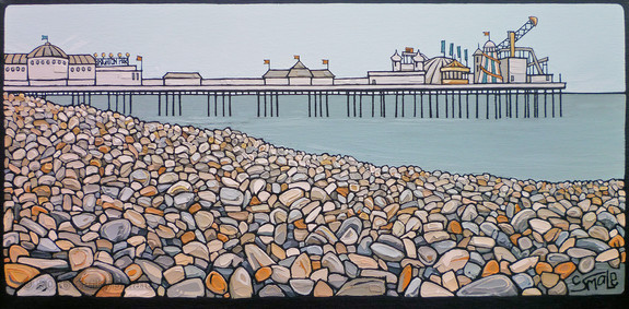 Pebble Beach - Brighton Pier