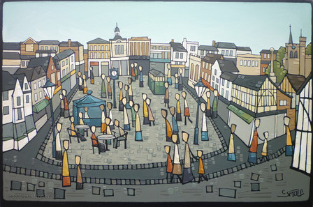 Hitchin - Town Centre