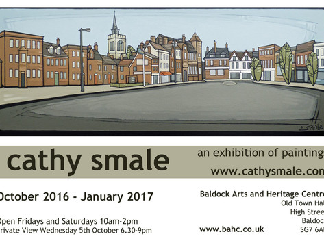 SOLO EXHIBITION at Baldock Arts and Heritage Centre