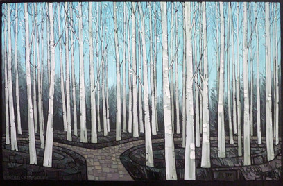 Woodland Trees - Silver Birches