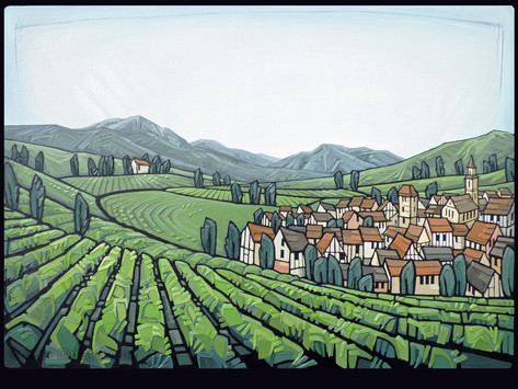 The Art of Wine: Cathy Smale on creating our Alsace List Cover