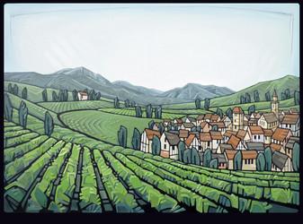 Alsace Vineyards - Wine Society