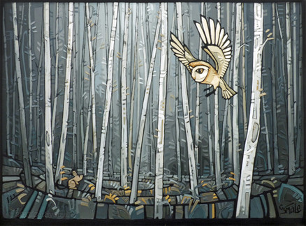 Woodland - The Owl and The Mouse