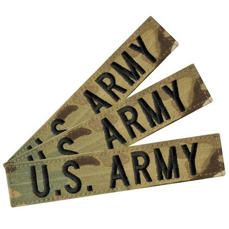Army Multicam Name Tape