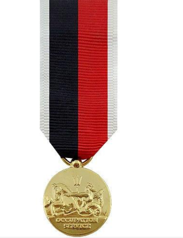 Navy Occupation Service Miniature Medal