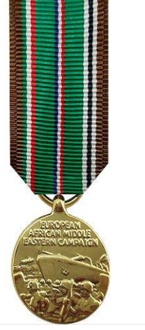 European-African-Middle Eastern Campaign Miniature Medal
