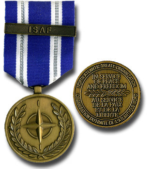 Non Article 5 ISAF Medal