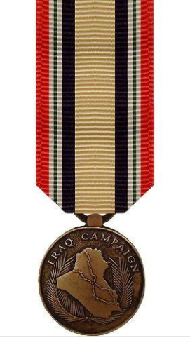 Iraq Campaign Miniature Medal