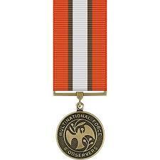 Multinational Force & Obervers Miniature Medal