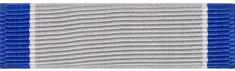 Silver Lifesaving Ribbon