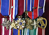 air force miniature medals