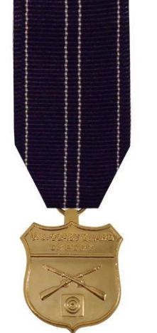 Miniature Coast Guard Expert Rifleman Medal