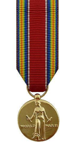 World War II Victory Minature Medal