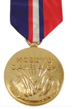 Kosovo Campaign Medal