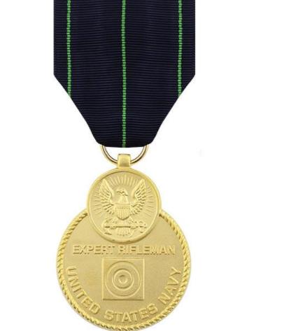 Navy Expert Rifleman Medal