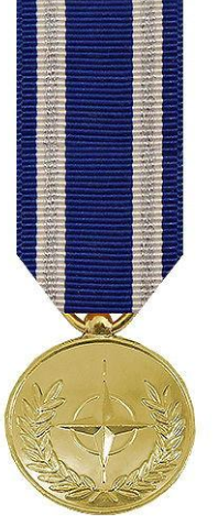 Non Article 5 ISAF Miniature Medal