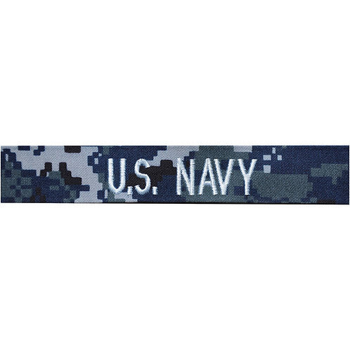 Navy NWU Enlisted Service Name Tape